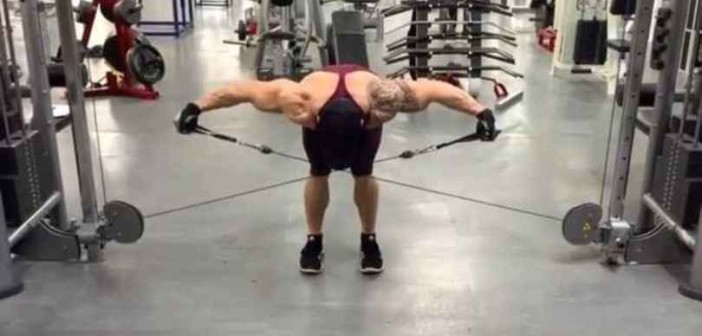 Bent-Over Cable Raise