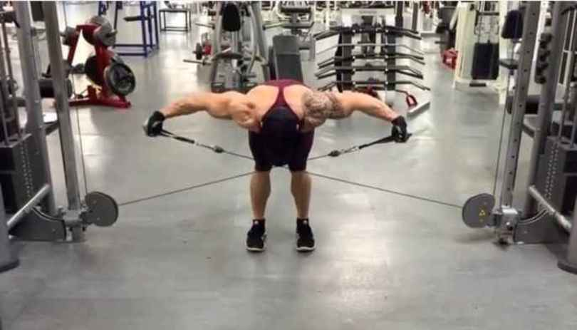 Bent-Over Cable Lateral Raise • Bodybuilding Wizard