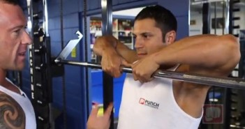 Smith-Machine Upright Row