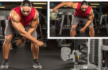 One-Arm Bent-Over Cable Lateral Raise