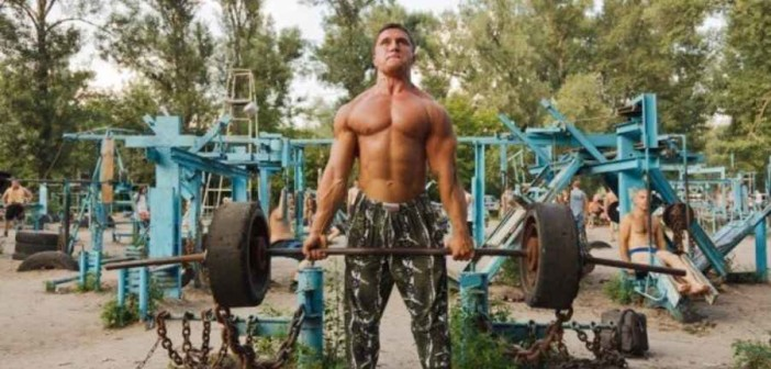 Ukraine's amazing outdoor gym