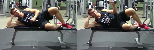Side Lying Dumbbell External Rotation