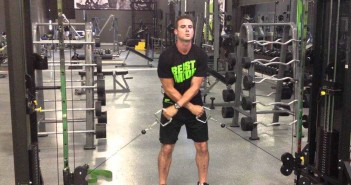 Two-Arm Cable Lateral Raise