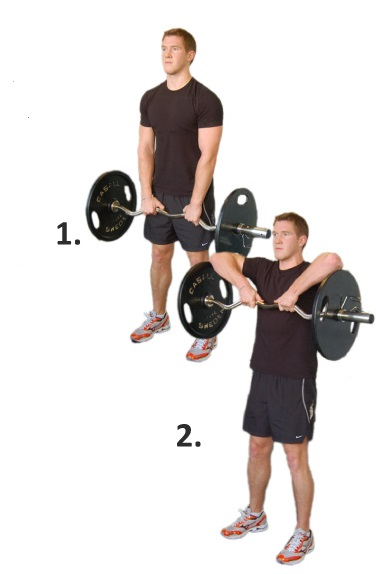 Upright Barbell Row