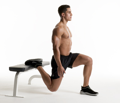 Bulgarian Bodyweight Split Squat