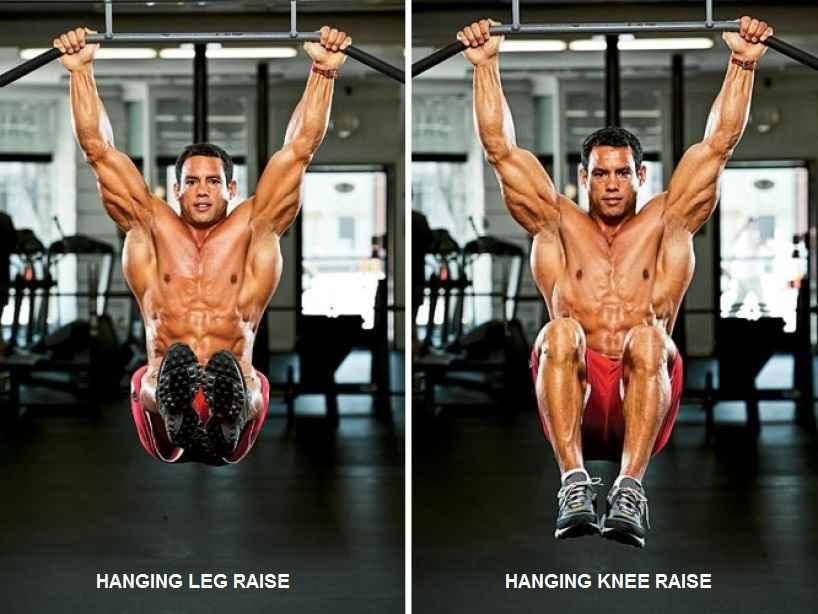 Hanging Leg/Knee Raise