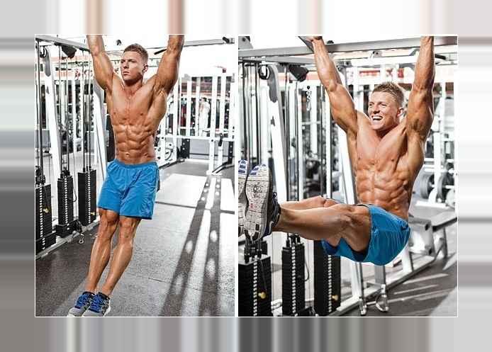 Hanging Leg Raise (Straight-Leg Hanging Leg Raise)