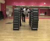 The Highest Flying Push-Up of All Time