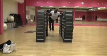 The Highest Flying Push Up of All Time