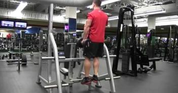 Single-Leg Heel Raise