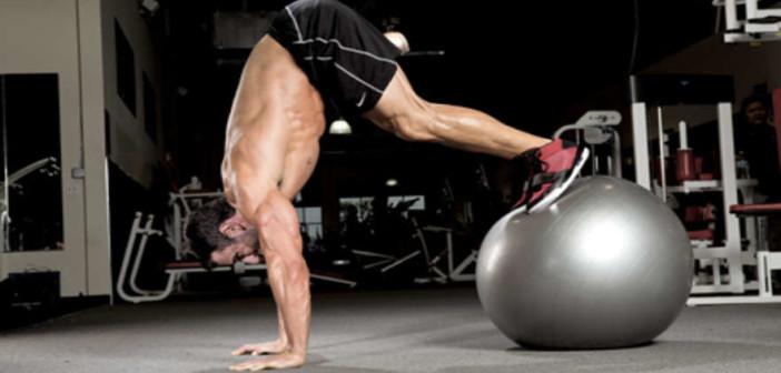 Stability Ball Pike