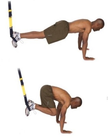 TRX Jackknige Core Exercise
