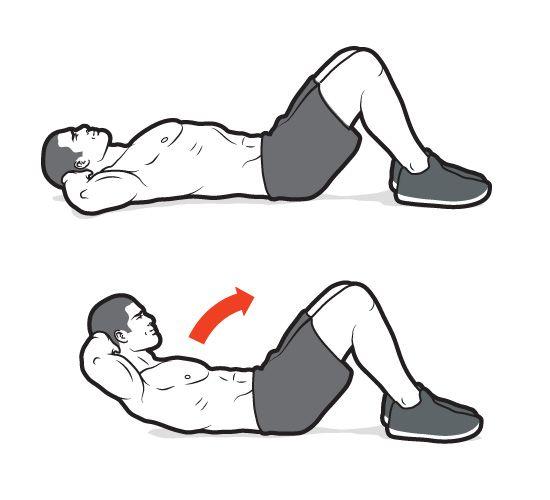 Basic Abdominal Crunch Technique