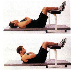 Legs Supported Crunch