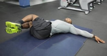 Hip Roll - Hip Crossover Exercise