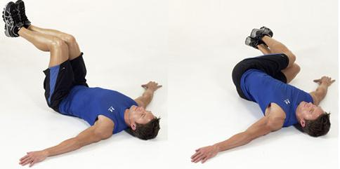 hip roll or lower body russian twist
