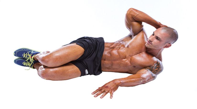Lateral Crunch • Bodybuilding Wizard