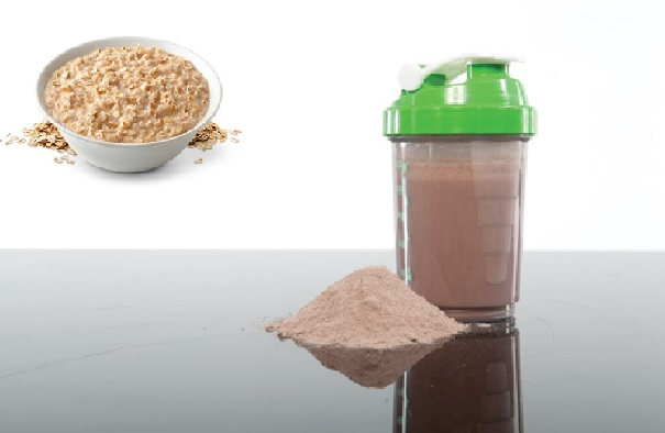 Oat Flakes With Casein Protein