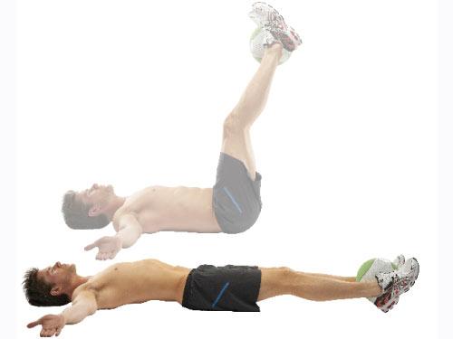 Image result for Lying Leg Raise