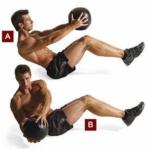 Medicine Ball Twists