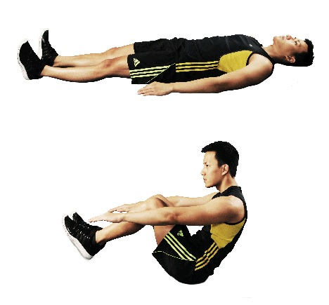 Modified V-Sit  Core & Abdominal Exercise
