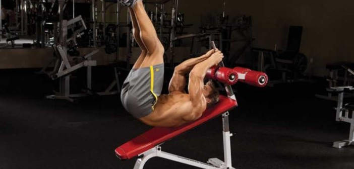 Incline Reverse Crunch