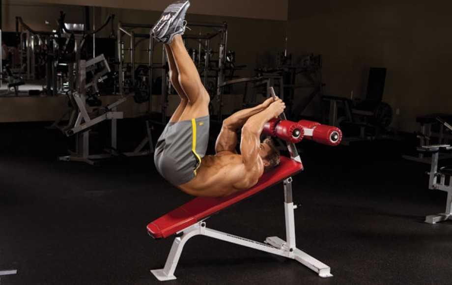 Incline Reverse Crunch • Bodybuilding Wizard
