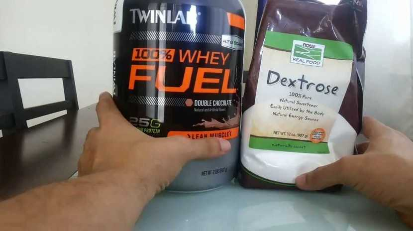 Whey and Dextrose - Post-Workout Liquid Snack