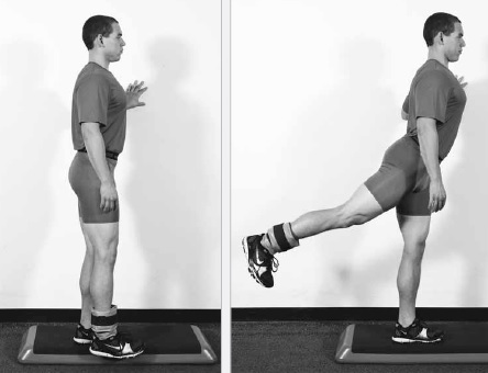 Ankle-Weight Standing Hip Extension