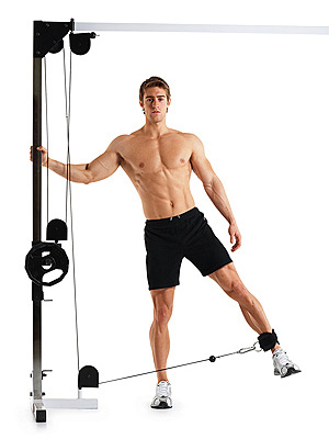 Cable Hip Abduction • Bodybuilding Wizard