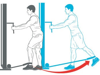 Low-Cable Standing Hip Extension