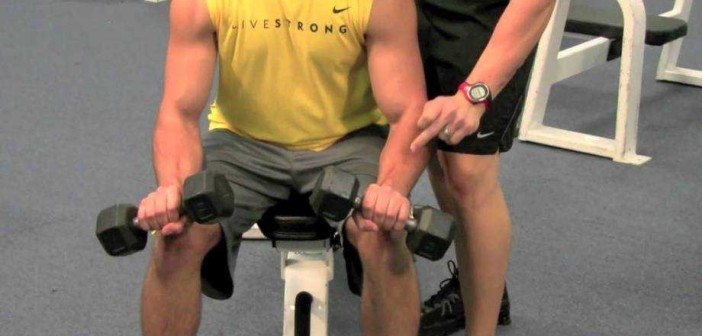 Dumbbell Wrist Extension