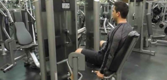 Machine Hip Abduction Exercise