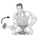Neutral Dumbbell Wrist Curl - Pronation/Supination