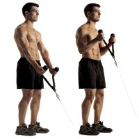 Rope Cable Hammer Curl