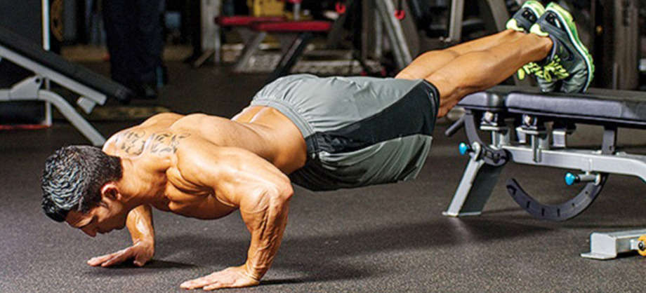 Decline Push-Ups • Bodybuilding Wizard
