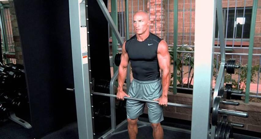 Smith Machine Shrug Bodybuilding Wizard