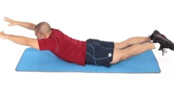 Lying back extension - prone lying back extension