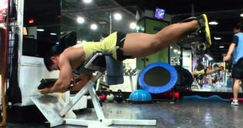 Reverse Back Extension Exercise