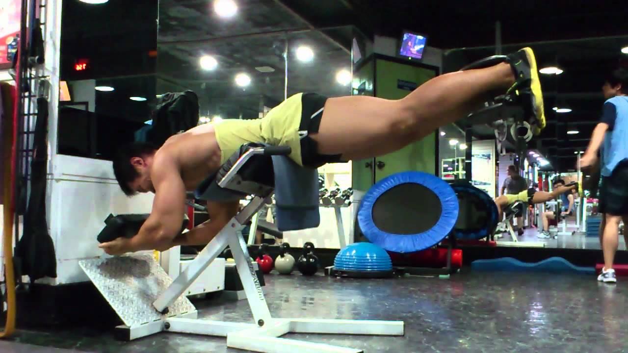 Reverse Back Extension - Reverse Hyper • Bodybuilding Wizard