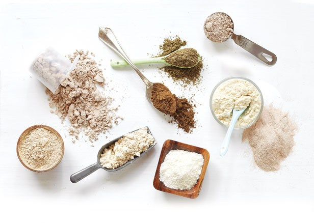 Vegan/vegetarian protein powders