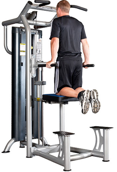 assisted dip/pullup machine
