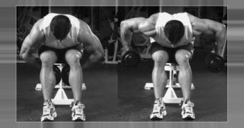 Bent-Arm Bent-Over Dumbbell Row