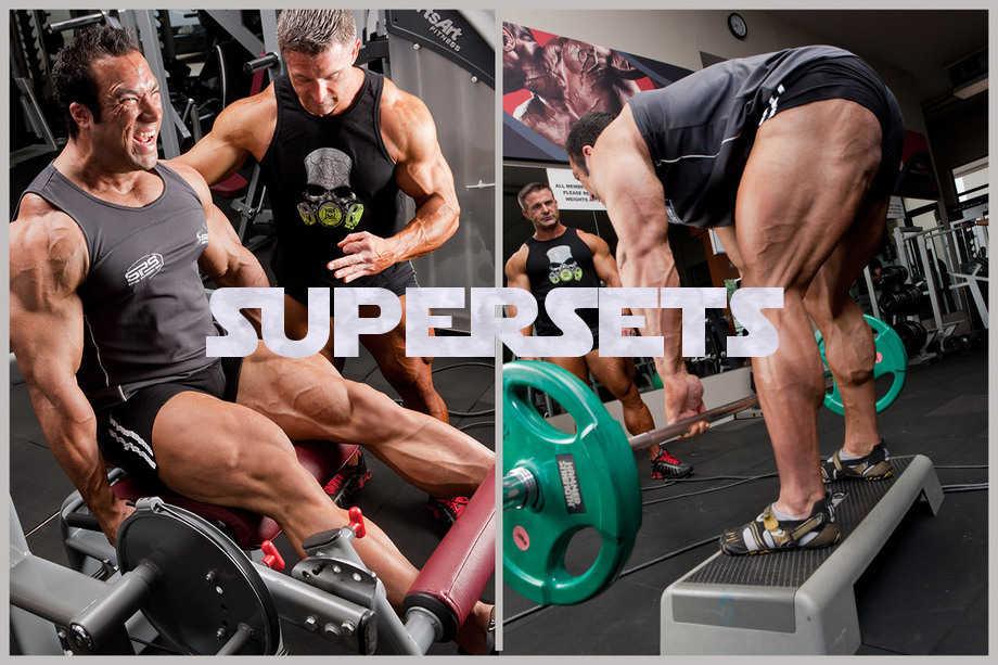 Supersets Increasing Training Intensity Bodybuilding Wizard