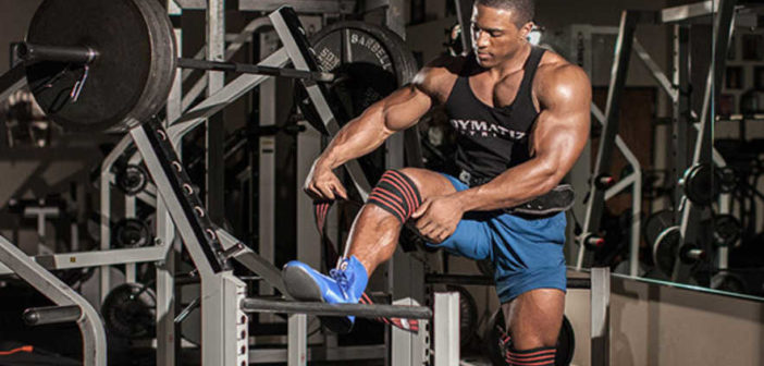 Knee wraps: bodybuilding accessories