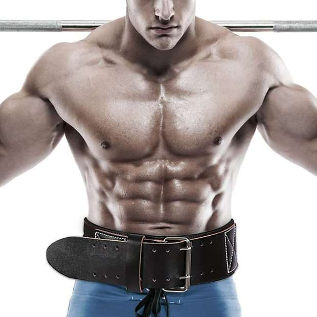 Weight training accessories: Weightlifting Belts