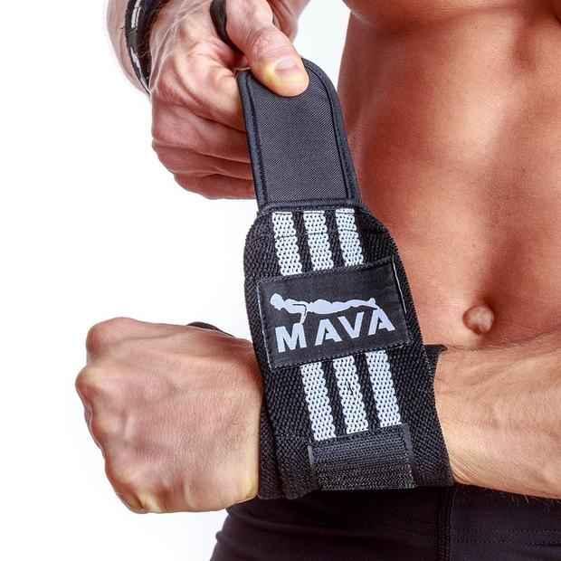 Bodybuilding accessories: wrist wraps