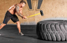 Sledgehammer & Tire Workout