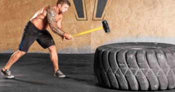 Sledgehammer & Tire Workout