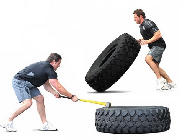 Training With Sledgehammers and Tires